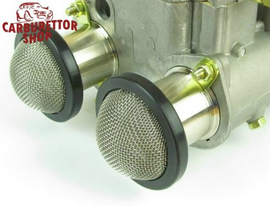 Stainless Steel Push-fit Mesh Trumpet Gauzes for 40mm Bolt-On Trumpets