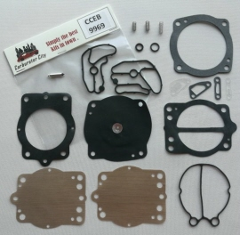 Service kit for Keihin CDK II Carburetors for Kawasaki Waterscooters