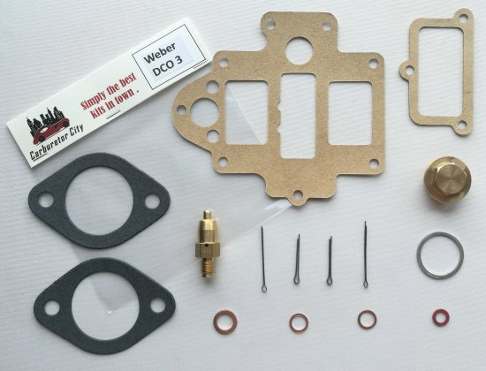 Rebuild Kit for Weber 40 DCO3 carburetors